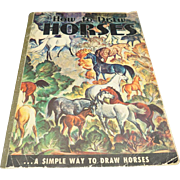 How to Draw Horses By Walter Foster