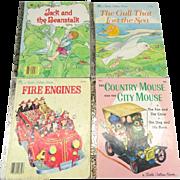 A Little Golden Book Collection of 4 Children's Stories