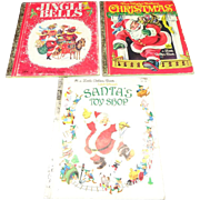 A Little Golden Book Collection of 3 Children's Christmas Stories