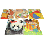 Set of 5 Vintage Children's Books