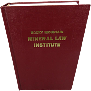 Rocky Mountain Mineral Law Institute #41
