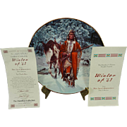 Hamilton Collection Presents Winter of '41 The Last Warriors Plate Collection