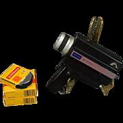 Vintage Sears TLS Reflex Zoom C-122 Movie Camera with Pistol Grip