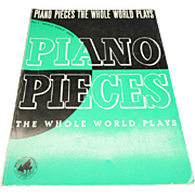 Piano Pieces the Whole World Plays