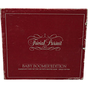 Trivial Pursuit Baby Boomer Edition Subsidiary Card Set