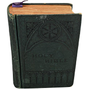 1885 Hardcover Holy Bible