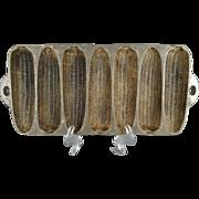Vintage Cast Iron Corn Cob Cornbread Muffin Baking Pan