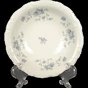 "Johann Haviland 5"" Vegetable Serving Plate Blue Garland Pattern"
