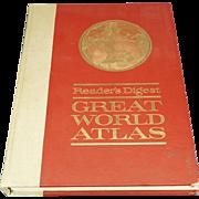 Readers Digest Great World Atlas - 1963