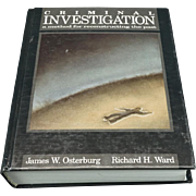 A Criminal Investigation A Method of Reconstructing the Past