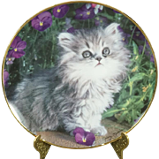 Franklin Mint Purrfection! By Nancy Matthews Collectors Plate Signed