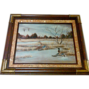 SALE American Artist, Shirley McDaniel Signed & Numbered Framed Limited Edition Print
