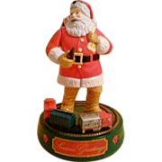 SALE 1993 Coca Cola Santa Claus Mechanical Bank
