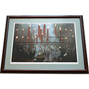 "REDUCED 1980s China, Hangzhou, ""Ancestor Worship"", original framed photo, Kubota"