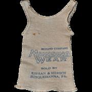 Munsingwear Doll Size Sample T-Shirt with Advertising