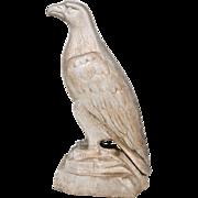 "REDUCED Large 33""Cast Aluminum White Eagle Mascot"