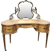 19th century French Louis XVI make up table