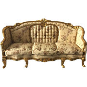 Super elegant sofa/settee made in Louis XVI style in its Original French form.