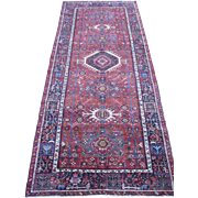 Persian handmade Karadja Carpet , Oriental Rug , Azerbaijan Province , Northwest Persia ,2nd .