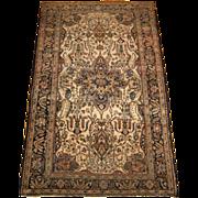 REDUCED Antique Persian Sarouk Ferahan Oriental Rug circa 1910 , 6.6 x 4.1