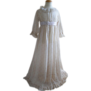 SOLD Child's 'Kate Greenaway' Victorian dress in the Regency style