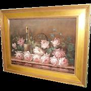 Painting, Floral Still Life