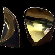 RARE Ben Seibel MidCentury Brass Bookends