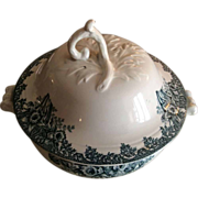 SALE French Ironstone Soup Tureen or bowl with cover