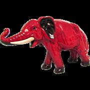Large Royal Doulton Flambe Bull Elephant