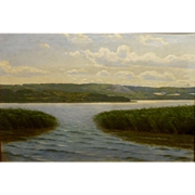 "SALE ""Lake District,"" Listed Artist, 24 x 36"" (Image)"