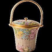 Halcyon Days Enamel Potpourri Basket