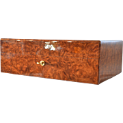 SALE A late vintage French Daniel Moevus humidor.