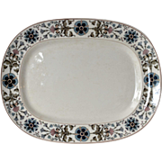 SALE A Villeroy and Boch serving dish/platter, early 1900s.