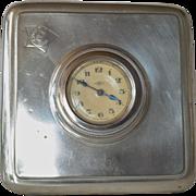 SALE Art Deco era travel timepiece, made by Kienzle, Schwenningen, Germany, 1920-1940.