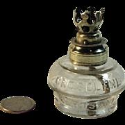 "SALE Antique Mini Oil Lamp ""VAPO"" - 1884"