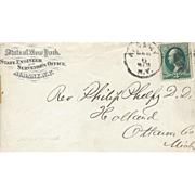 Antique Envelopes from Land Surveyors – 1800's