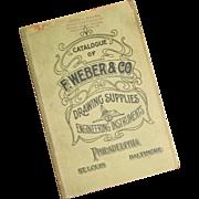 Ca 1920 - Vintage Catalogue – F. Weber & Co., Philadelphia