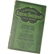 1919 - Vintage Catalogue – Eugene Dietzgen Co. 10th Edition