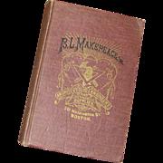 SALE B. L. Makepeace, Inc., Boston, MA 1921 - Vintage Hardcover Catalogue