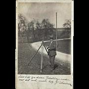 Germany - Surveyor – Vintage Real Photo Post Card – 1923