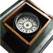 REDUCED Vintage E. S. Ritchie & Sons Dry Card Boxed Compass