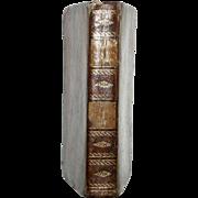 """1824 French """"VIE DES ENFANS CELEBRES OU MODELES DU JEUNE AGE"""" All Leather, Hard Cove"""