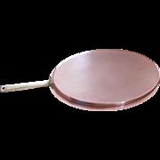 XLarge 23 Inch Copper Fish Fry Pan Culinox Spring Switzerland #69 MCM Danish Mod Vintage ...