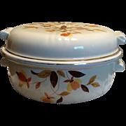 Hall's 1930's Autumn Leaf Covered Casserole Dish