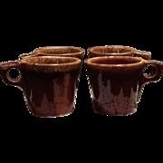 Hull Brown Drip Coffee Mugs
