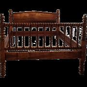 Antique Jenny Lind Spool Bed