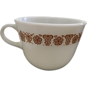 Pyrex Butterfly Gold Coffee/Tea Cup