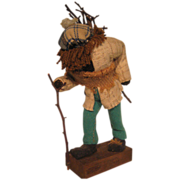 "Canadian Folk Art ""Woodman"" figure"