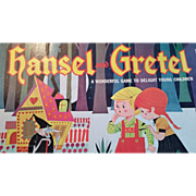 "Vintage ""Hansel & Gretel"" board game by Lowell Toy Manufacturing Corp 1950-1960"