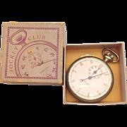 SOLD Jockey Club Stopwatch in Original Box